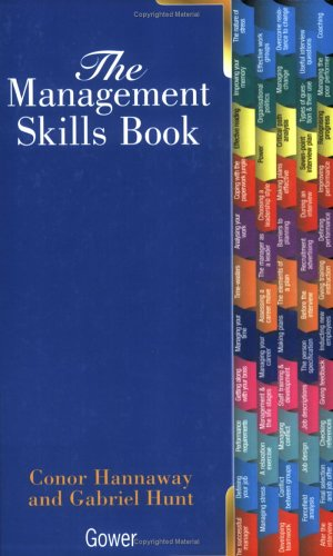 The Management Skills Book By Conor Hannaway
