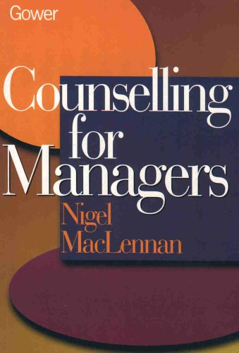 Counselling for Managers By Nigel MacLennan