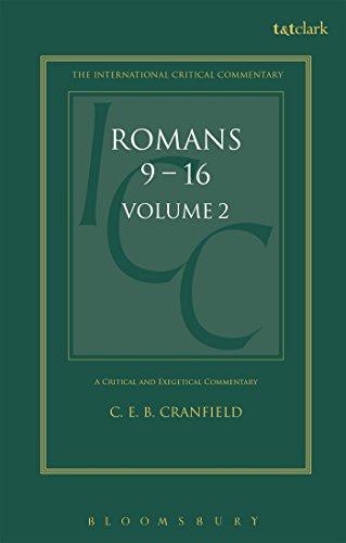 Romans By C. E. B. Cranfield