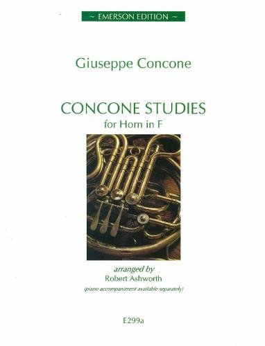 Concone Studies for Horn (Horn part only), ed. Ashworth By Ed: Ashworth Concone