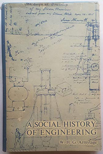 Social History of Engineering By Walter Harry Green Armytage