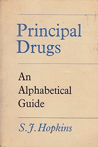 Principal Drugs By S.J. Hopkins