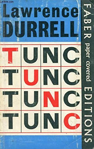 Tunc By Lawrence Durrell