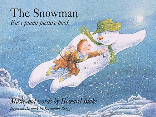 """Snowman"" Easy Piano Picture Book By Howard Blake"