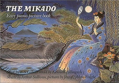 """""""Mikado"""" Easy Piano Picture Book By (music) Kenneth Lillington"""