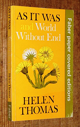 As it Was By Helen Thomas