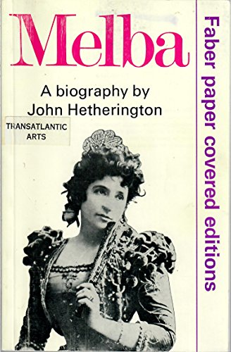 Melba By John Hetherington