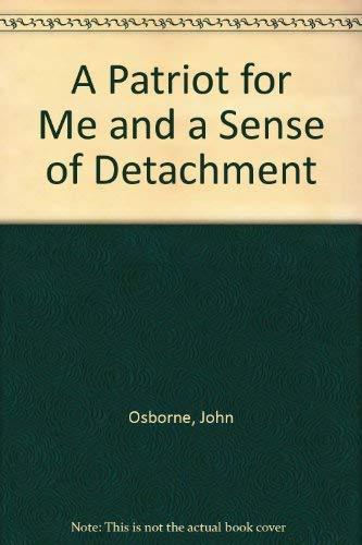 A Patriot for Me par John Osborne