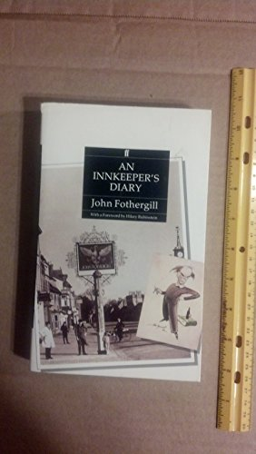 An Innkeeper's Diary by Fothergill, John Paperback Book The Cheap Fast Free Post