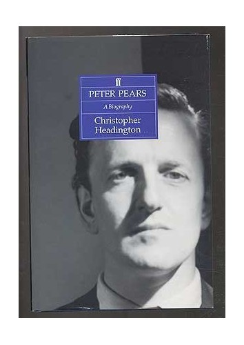 Peter Pears By Christopher Headington