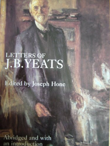Letters of J B Yeats by John Butler Yeats