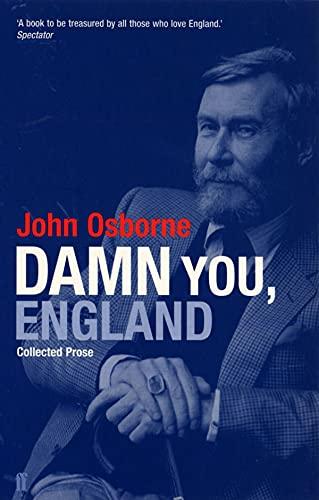 Damn You England By John Osborne