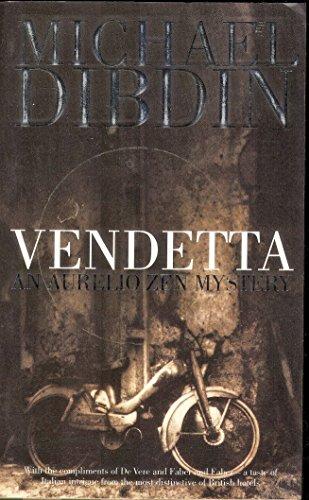 Vendetta *De Vere* By Dibdin M