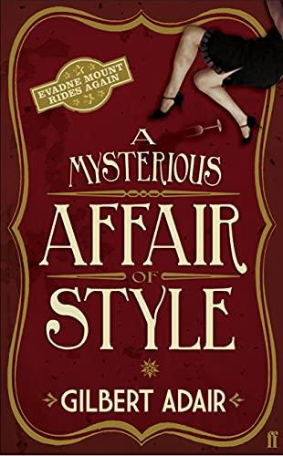 A Mysterious Affair of Style By Gilbert Adair