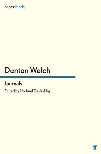 Journals von Denton Welch