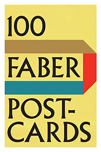 100 Faber Postcards By Various