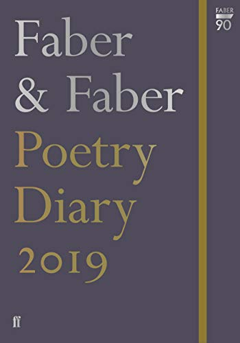 Faber & Faber Poetry Diary 2019 (Diaries 2019) By Various