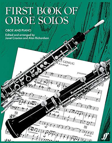 First Book Of Oboe Solos By (music) Janet Craxton
