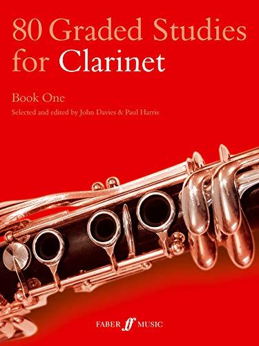 80 Graded Studies for Clarinet: Bk. 1 by John Davies