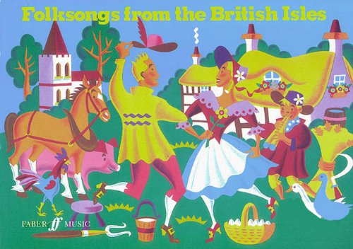 Folk Songs from the British Isles By Ronald Corp