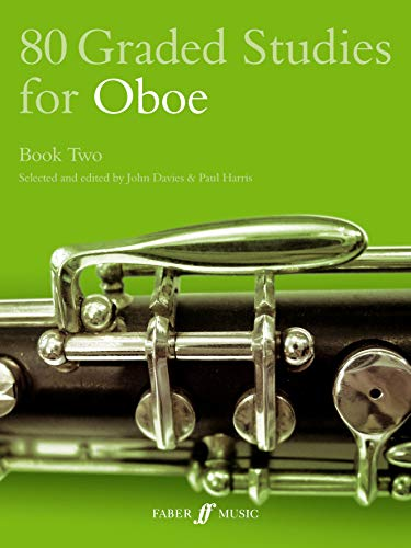 80 Graded Studies for Oboe Book Two By John Davies