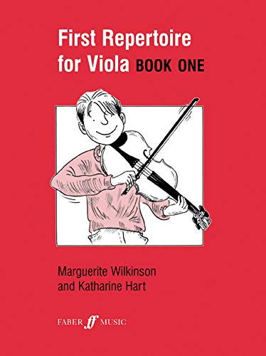 First Repertoire for Viola: Bk. 1 by Marguerite Wilkinson