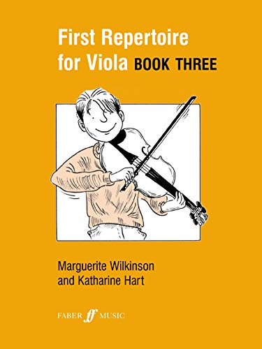 First Repertoire For Viola Book 3 By (music) Katherine Hart