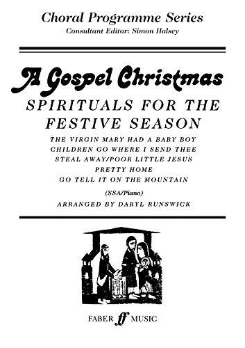 A Gospel Christmas By Arranged by (music) Daryl Runswick