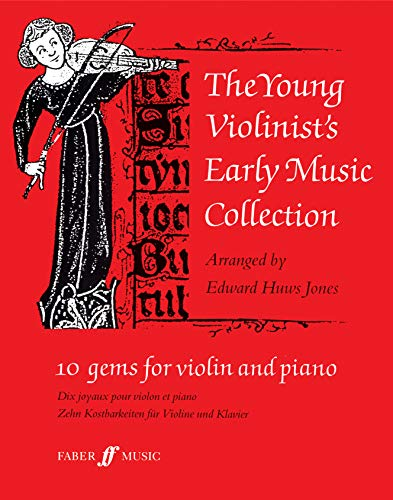 Young Violinist's Early Music Collection By Edward Huws Jones