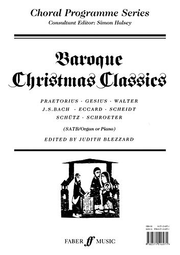 Baroque Christmas Classics (CPS) By Judith Blezzard
