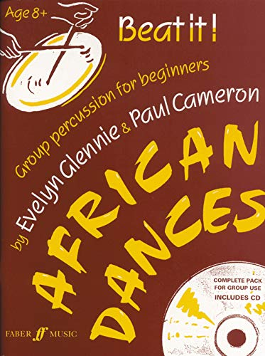 Beat It!: African Dances (Beat it! : group percussion for beginners) (Faber Edition) by Paul Cameron