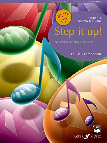 Step It Up! Flute, Grades 1-3 (with Free Audio CD) By Louise Chamberlain