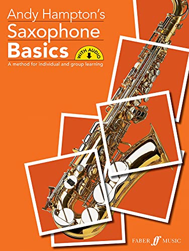 Saxophone Basics Pupil's book (with CD) By Andy Hampton
