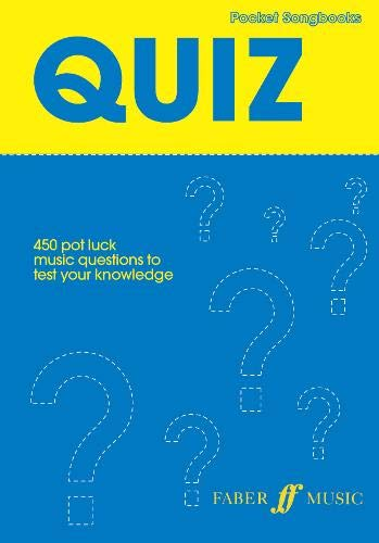 Pocket Songs: Quiz By Edited by Lucy Holliday