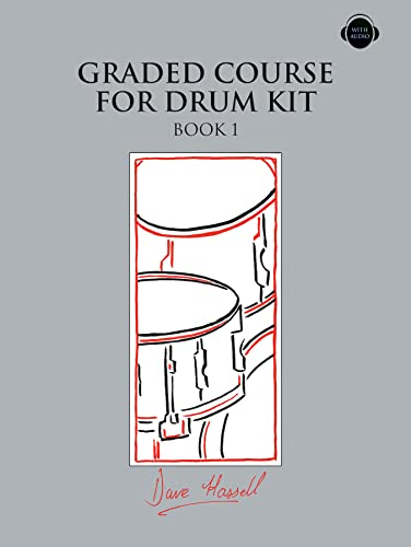 Graded Course for Drum Kit Book 1 CD By Dave Hassell