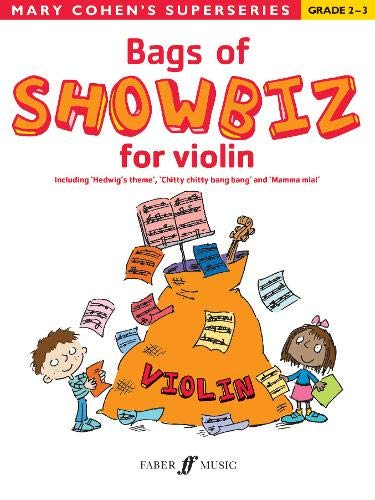 Bags of Showbiz for Violin By By (composer) Mary Cohen
