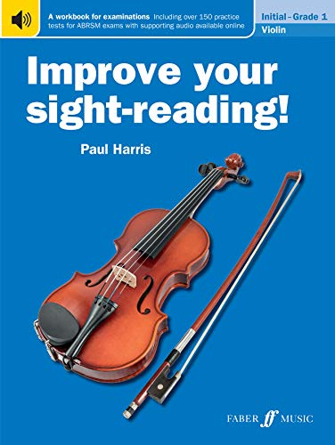 Improve Your Sight-Reading! Violin Grade 1 By Paul Harris