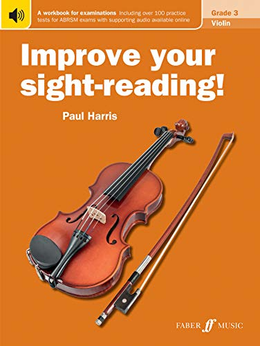 Improve Your Sight-Reading! Violin Grade 3 By Paul Harris
