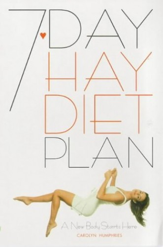The 7-day Hay Diet Plan By Carolyn Humphries