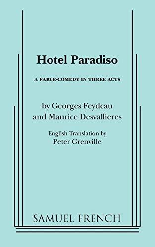 Hotel Paradiso By Georges Feydeau