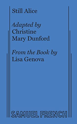 Still Alice By Christine Mary Dunford