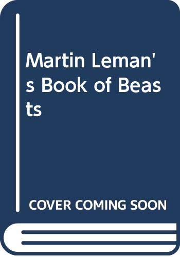 Martin Leman's Book of Beasts By Colin Pearson