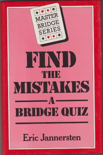 Find the Mistakes by Eric Jannersten