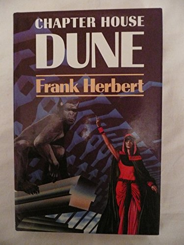 Chapter House Dune by Herbert, Frank Hardback Book The Cheap Fast Free Post