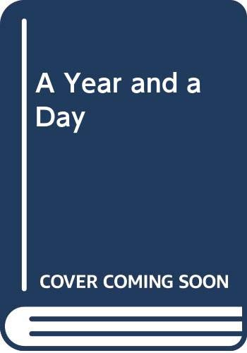 A Year and a Day By Monica Furlong