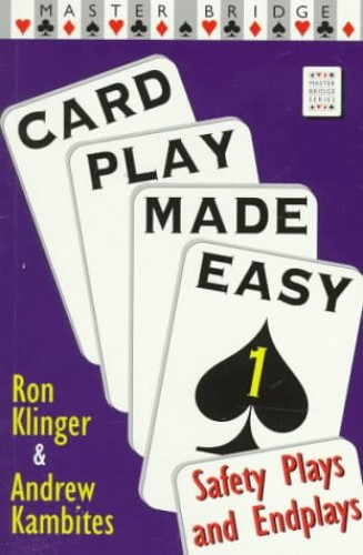Card Play Made Easy By Ron Klinger