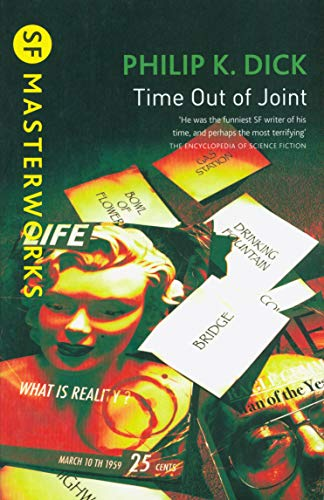 Time Out Of Joint (S.F. MASTERWORKS) By Philip K. Dick