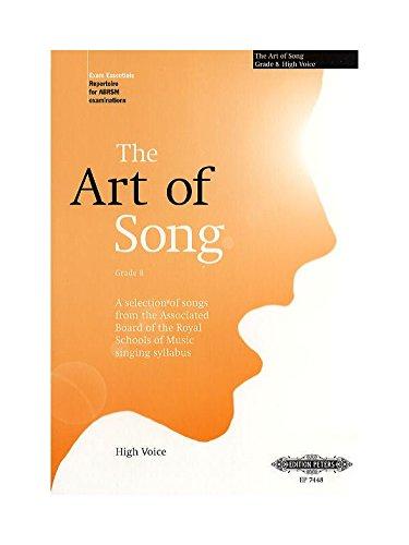 Art of Song Hoog Grade 8 Chant By Divers Auteurs