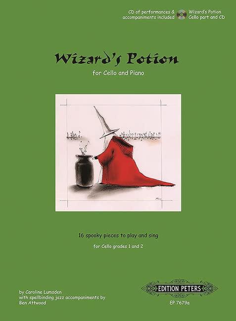 Wizard'S Potion - Caroline Lumsden Violoncelle +CD By Divers Auteurs