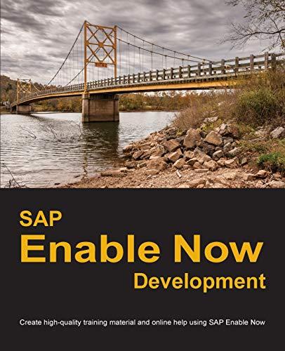 SAP Enable Now Development By Dirk Manuel